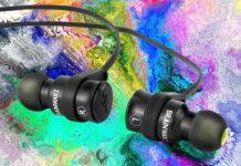 Kopfhörer von Brainwavz Modell Blu-100. Musikhören und Telefonieren unterwegs ohne lästiges Kabelgewirr: Der Brainwavz Blu-100 präsentiert sich als praktischer Tausendsassa.
