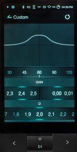Digital Audio Player von Astell & Kern Modell KANN. Der 20-Bandige Equalizer steht in einer grafischen...