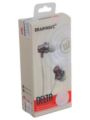 Die Verpackung des Delta In Ear Kopfhörers.