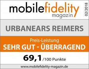 Urbanears Reimers Testsiegel