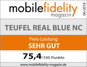 Testsiegel Teufel Real Blue NC