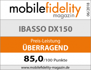 Testsiegel iBasso DX150