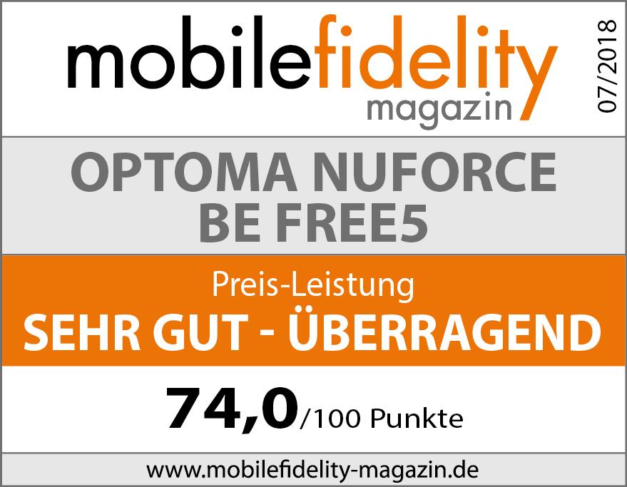 0a0935accd266 True Wireless Kopfhörer Optoma NuForce BE Free5 | Test ...