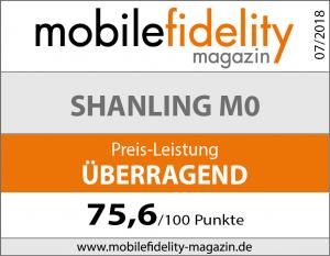 Testsiegel Shanling M0