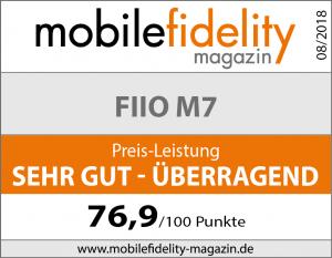 Testsiegel FiiO M7