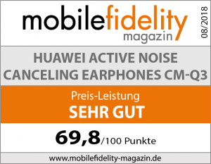 Testsiegel Huawei Active Noise Canceling Earphones CM-Q3