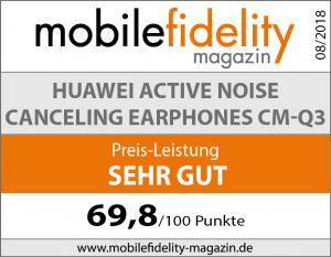 Testsiegel Huawei Active Noise Canceling Earphones CM-Q3
