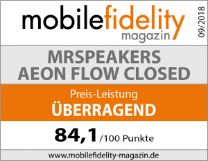 Testsiegel MrSpeakers Aeon Flow closed