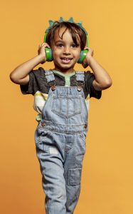 "IFROGZ Little Rockerz Costume Wireless ""T Rex"""