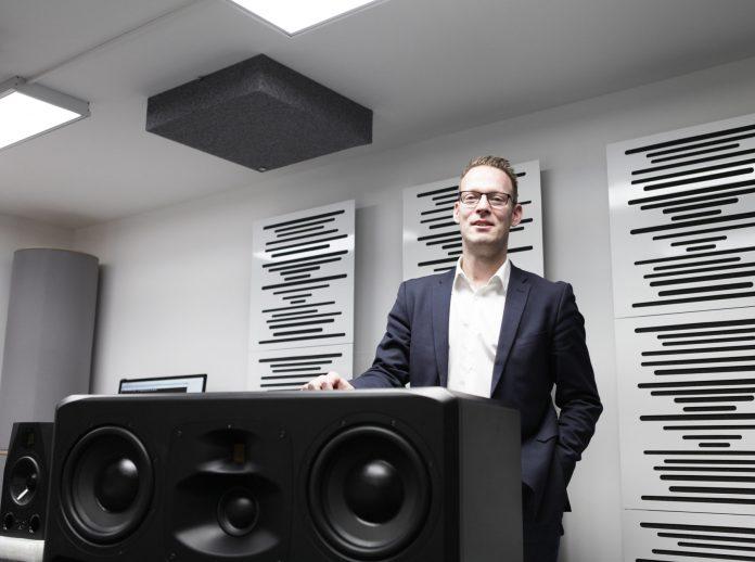 Christian Hellinger, Geschäftsführer von Adam Audio