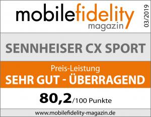Testsiegel-Sennheiser CX SPORT