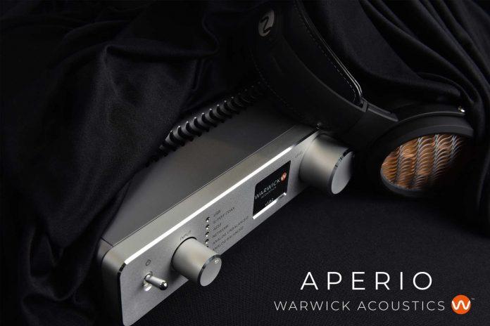 Warwick Acoustics präsentiert elektrostatisches Kopfhörer-System APERIO auf der High End