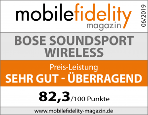 Testsiegel-BOSE SoundSport Wireless