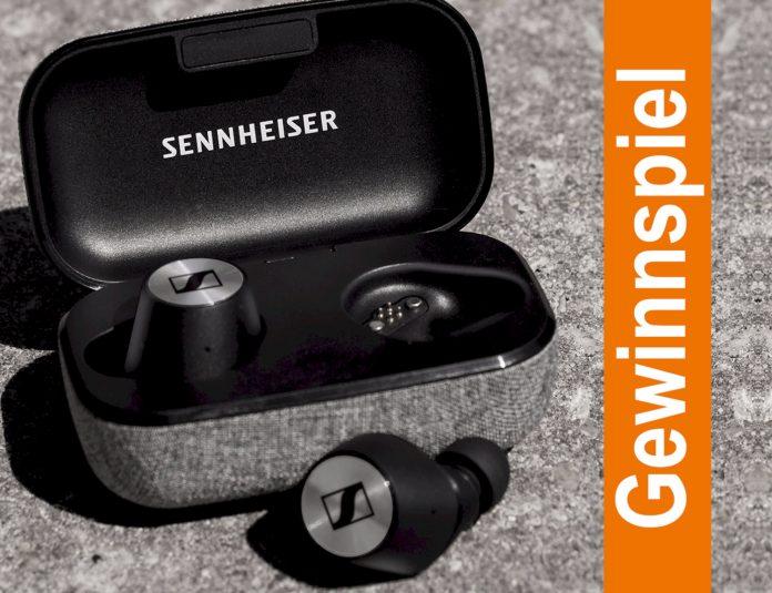 Gewinnen Sie einen MOMENTUM True Wireless In-Ear-Kopfhörer von Sennheiser