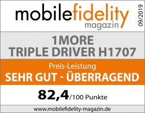 Testsiegel-1MORE TRIPLE DRIVER H1707