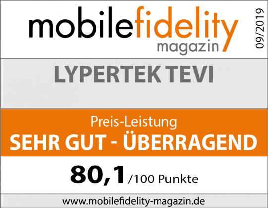 Lypertek TEVI Test bei mobilefidelity magazin