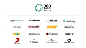 Sony 360 Reality Audio Partners