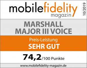 Testsiegel-MARSHALL MAJOR III VOICE