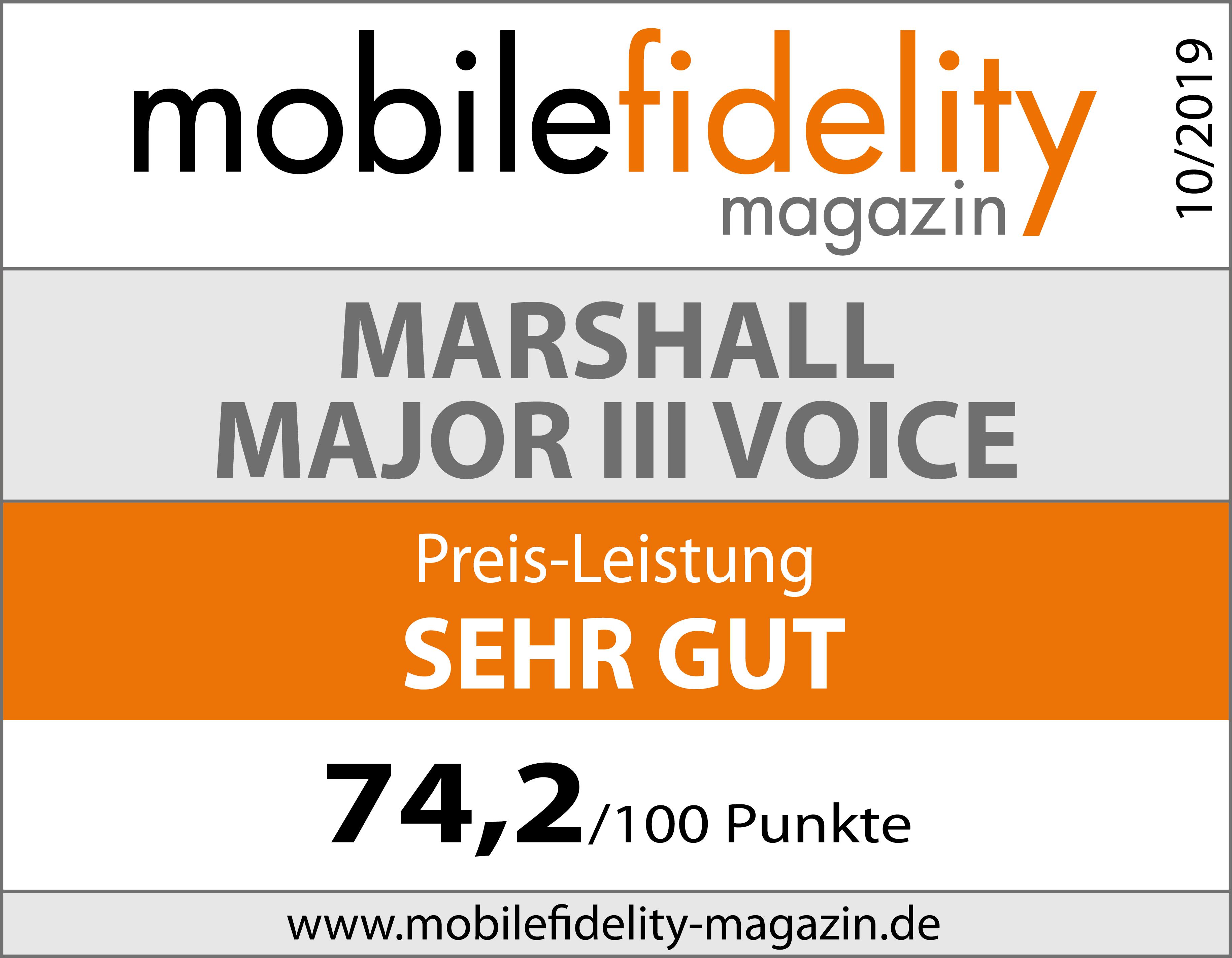 Bluetooth On Ear Kopfhörer Marshall Major Iii Voice Test