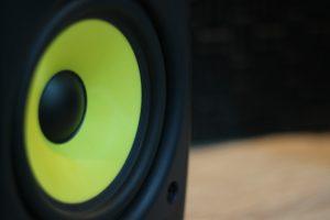 Lautsprecher Einbrennen