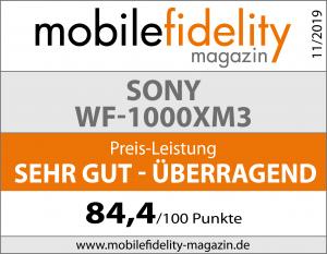 Testsiegel-SONY WF-1000XM3