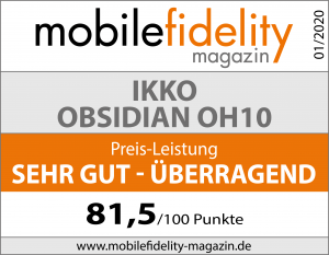 Testsiegel-ikko audio Obsidian OH10