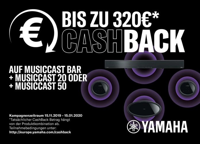 Yamaha Cashback-Aktion für MusicCast Surround-Bundles