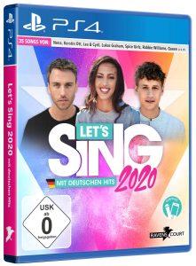 Let's Sing 2020 Mit Deutschen Hits Verpackung