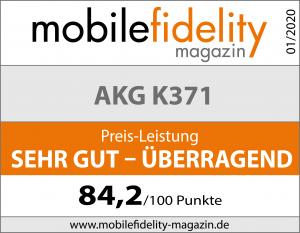 Testsiegel-AKG K371