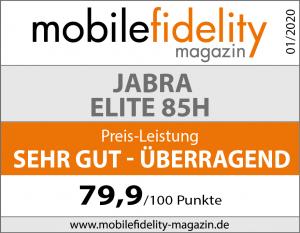 Testsiegel- JABRA ELITE 85H