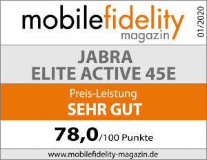 Testsiegel- JABRA ELITE ACTIVE 45E
