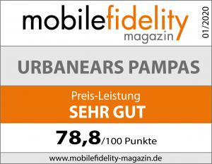 Testsiegel-Urbanears Pampas