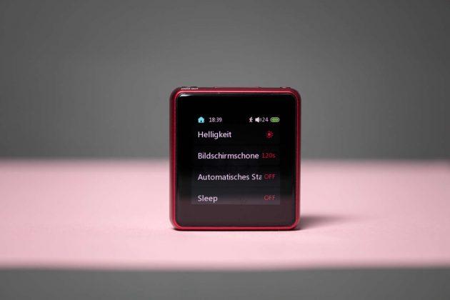 FiiO M5 Screen Einstellungen - Systemeinstellungen - Menü 1