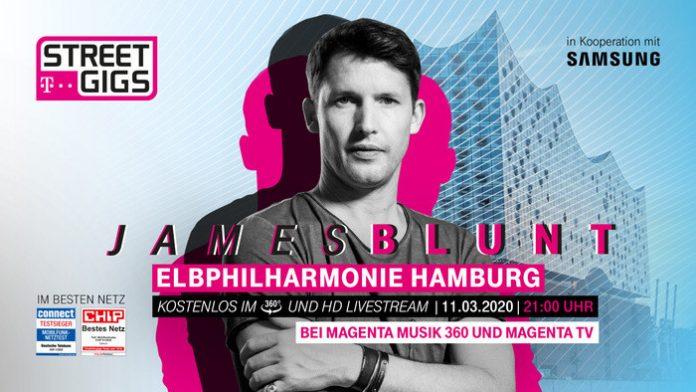James Blunt Telekom Street Gigs Elbphilharmonie Hamburg