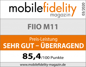 Testsiegel-FiiO M11