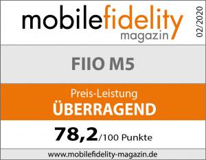 Testsiegel-FiiO M5