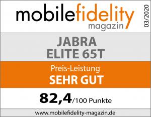 Testsiegel- JABRA ELITE 65T