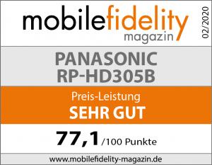 Testsiegel-PANASONIC-RP-HD305B