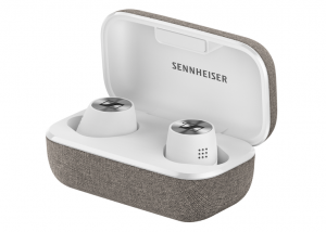 Sennheiser MOMENTUM True Wireless 2 Case_White_Product_shot
