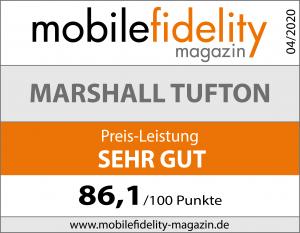 Testsiegel-Marshall Tufton