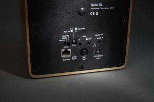WHD Qube XL Back Detail Anschlüsse
