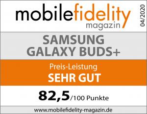 Testsiegel-Samsung Galaxy Buds+