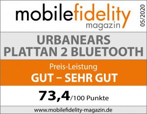 Testsiegel-Urbanears Plattan 2 Bluetooth