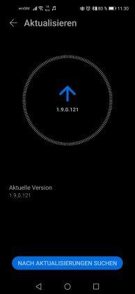 HONOR Magic Earbuds Screenshot Firmware-Update