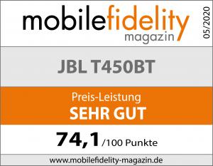Testsiegel-JBL T450 BT
