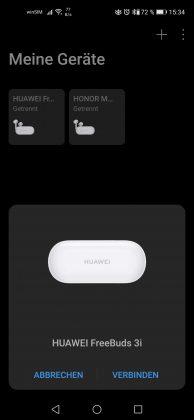 HUAWEI FreeBuds 3i Screenshot 1
