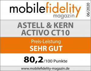 Testsiegel Astell & Kern Activo CT10