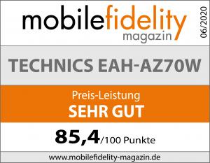 Testsiegel-Technics EAH-AZ70W