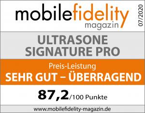 Testsiegel-ULTRASONE Signature Pro