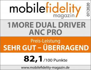 Testsiegel- 1MORE Dual Driver ANC Pro